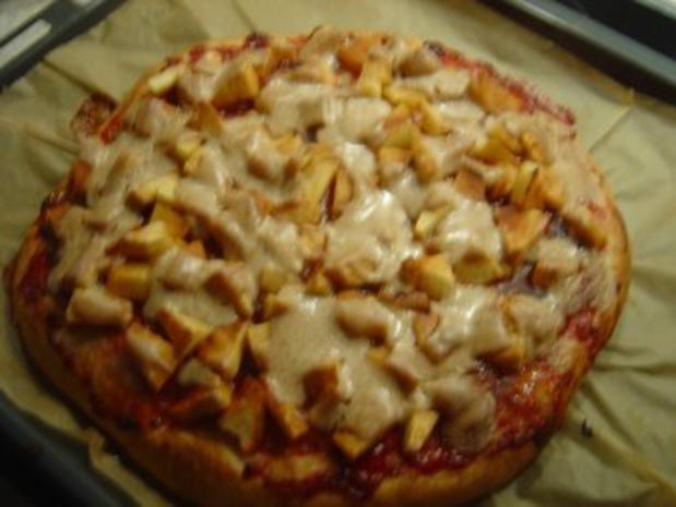 Pizza Diesmal Eine Susse Rezept Kochbar De