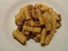 Penne mit echtem neapolitanischem Ragout - Rezept