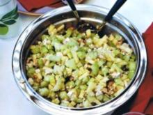 Selleriesalat mit Tofu und Apfel - Rezept