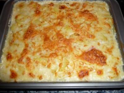 Kartoffelgratin a la Nadine - Rezept
