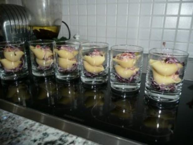 GLASFOOD 6: Gefüllte Muschelnudeln - Rezept - Bild Nr. 4