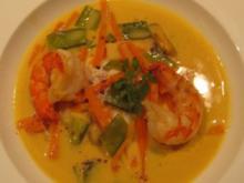 Thailändisches Fischcurry - Rezept