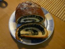 Mohn-Marzipan-Stollen - Rezept