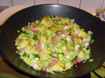 Lauwarmer Kartoffelsalat…. - Rezept