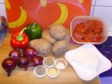 Bulgarische Paprika – Kartoffel Pfanne…. - Rezept