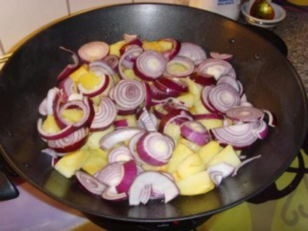 Bulgarische Paprika – Kartoffel Pfanne…. - Rezept - Bild Nr. 3