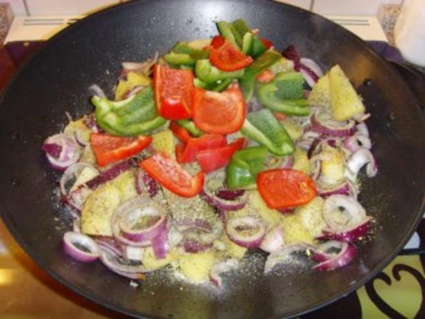 Bulgarische Paprika – Kartoffel Pfanne…. - Rezept - Bild Nr. 4