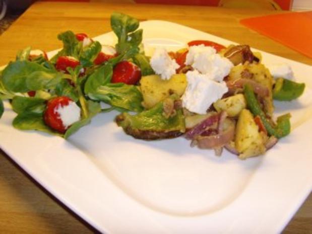 Bulgarische Paprika – Kartoffel Pfanne…. - Rezept - Bild Nr. 8