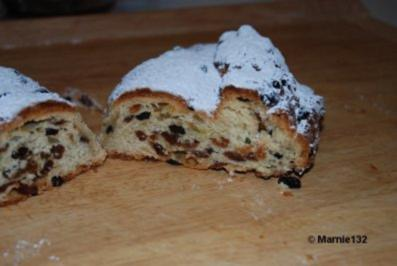 Christstollen nach traditioneller Art - Rezept