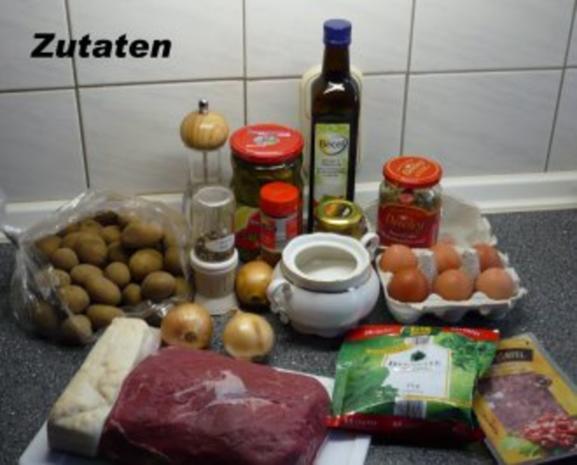 Roastbeef mit Bratkartoffeln und Remouladensauce - Rezept - Bild Nr. 2