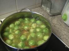 Rosenkohl - Suppe  - - Rezept