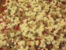 Kartoffelchips-Pizza - Rezept