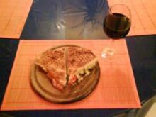 Abendbrot: Fladenbrot aus dem Waffeleisen - Rezept