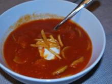 Currywurst-Suppe - Rezept