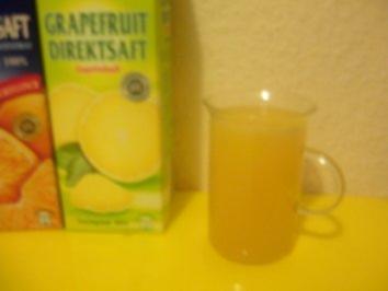 Grapefruit-Orangen-Punsch - Rezept