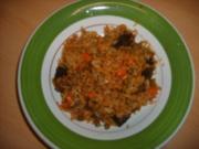 Mary's Bunte Reispfanne mit Leber und Gemüse - Rezept