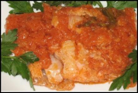 """Fisch Süß-Sauer im Teig"" - Rezept"