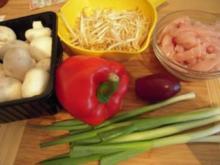 exotischer Geflügelsalat, eine scharfe Angelegenheit - Rezept