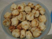 Kokos-Marzipan-Makronen - Rezept