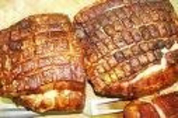 Schweinekrustenbraten in Dunkelbiersoße - Rezept - Bild Nr. 2