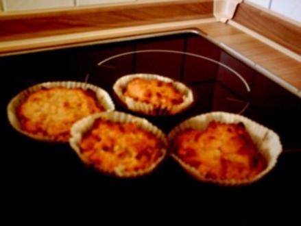 knusprige Apfel-Zimt-Muffins - Rezept
