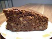 Kakaokuchen  mit Äpfeln - Rezept