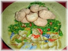 Plätzchen - Kokos-Busserl - Rezept