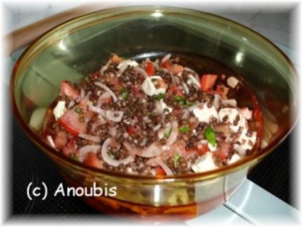 Salat - Glückslinsensalat - Rezept