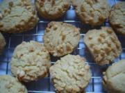Keks & Co:  Erdnusstaler - Rezept