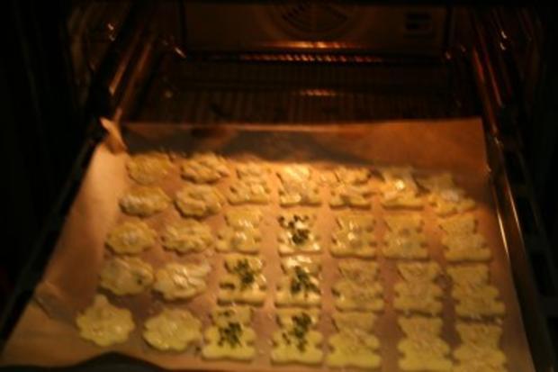 Butterplätzchen mit Mandel- und Nußdeko - Rezept - Bild Nr. 3