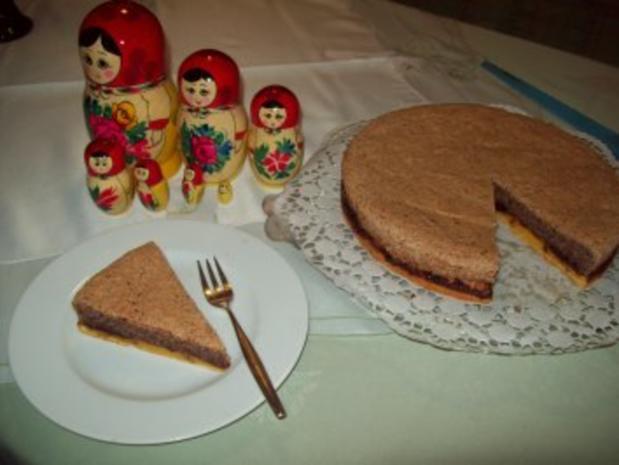 Russischer Kuchen - Rezept