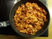 überbackenes Hähnchen- Gyros in Spezial- Sauce - Rezept