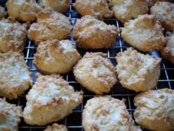 Keks & Co:   Kokosmakronen - Rezept