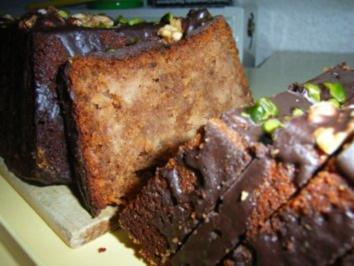 Kuchen: Nuss-Apfel-Kiste - Rezept