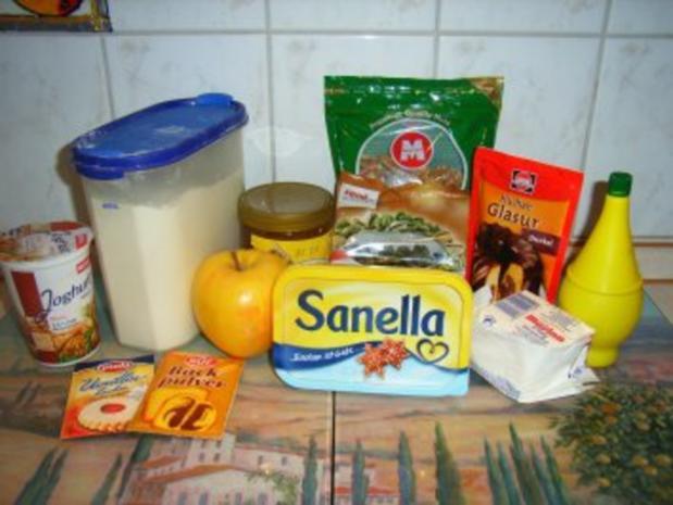 Kuchen: Nuss-Apfel-Kiste - Rezept - Bild Nr. 2