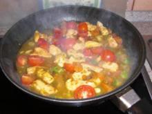Geflügel-Gemüse-Curry - Rezept