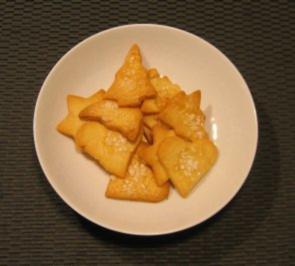 Plätzchen mit Hagelzucker - Rezept