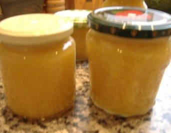 Orangenkonfitüre mit Ingwer und Apfel - Rezept