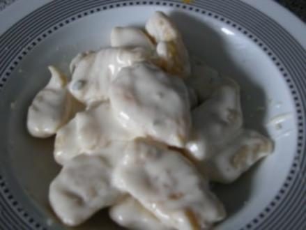 Gnocchis mit Gorgonzolasauce - Rezept