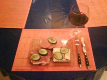 Abendbrot: Belegte Brote - Rezept