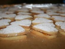 Plätzchen: Aprikosenherzchen - Rezept
