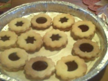 Plätzchen: Schoko-Pfirsich-Kekse - Rezept