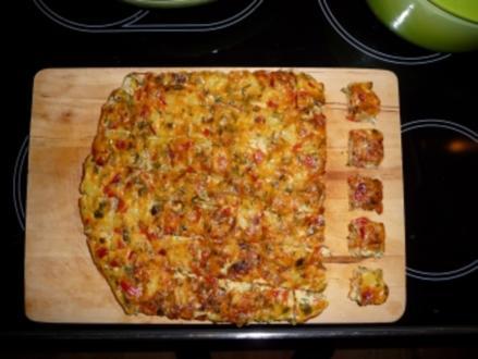 Tortilla Würfel - Rezept