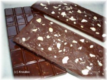 Nascherei - Schokolade mit Cashewnüssen und Ananas - Rezept
