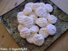 Weihnachten: Schneeflöckchen - Rezept