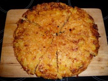 Chorizo-Käse-Tortilla - Rezept