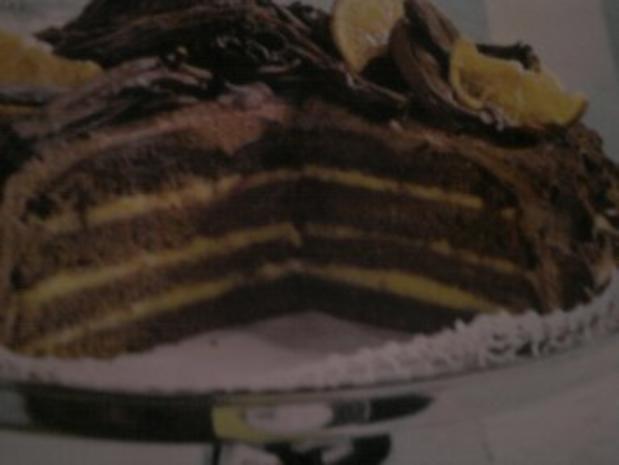 Orangen-Schoko-Torte - Rezept - Bild Nr. 2