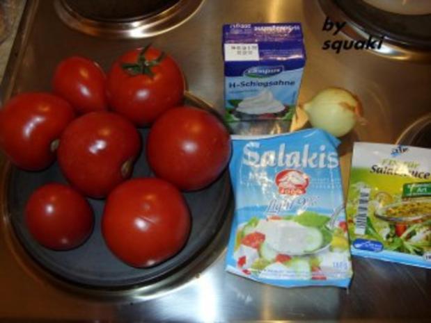 Tomaten-Feta-Salat - Rezept - Bild Nr. 2