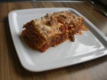 Lasagne Bolognese - Rezept