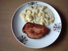 Saueres Kartoffelgemüse als Beilage - Rezept